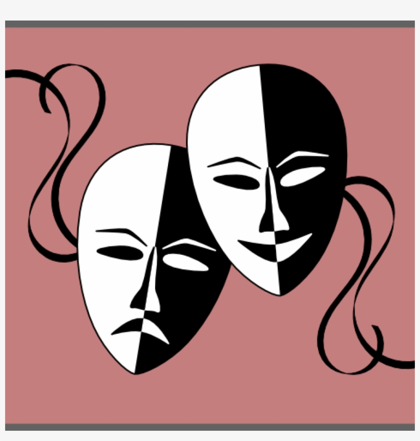 Theatre Masks Clip Art Theatre Masks Clip Art At Clker.