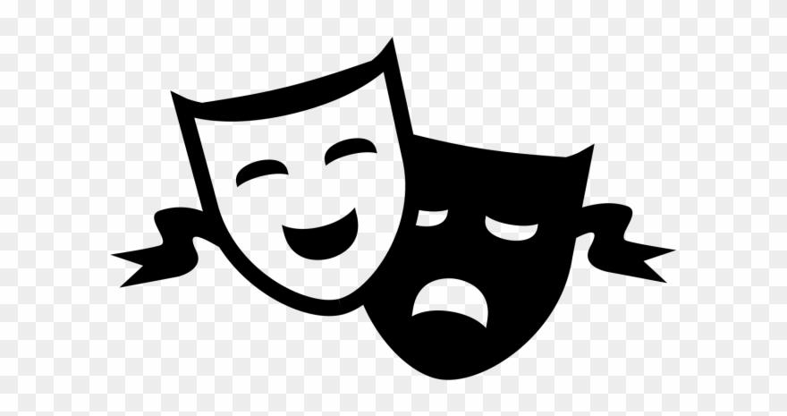 Theatre Clipart Comedy Tragedy.