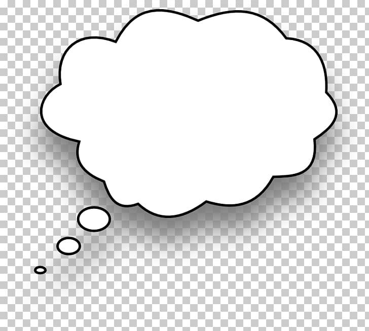 Globo de discurso pensamiento dibujos animados, burbuja de.