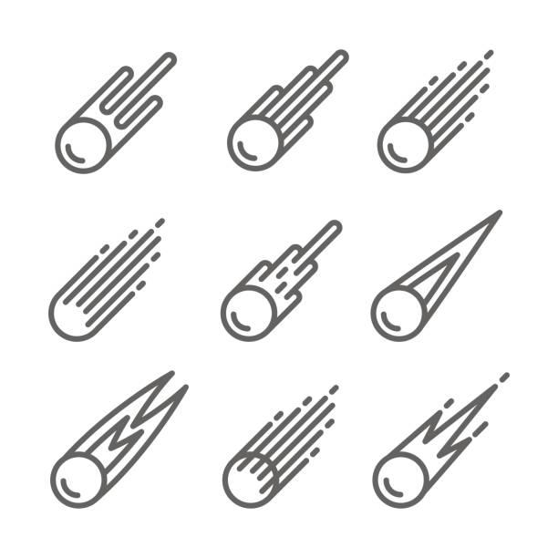 Best Comet Illustrations, Royalty.