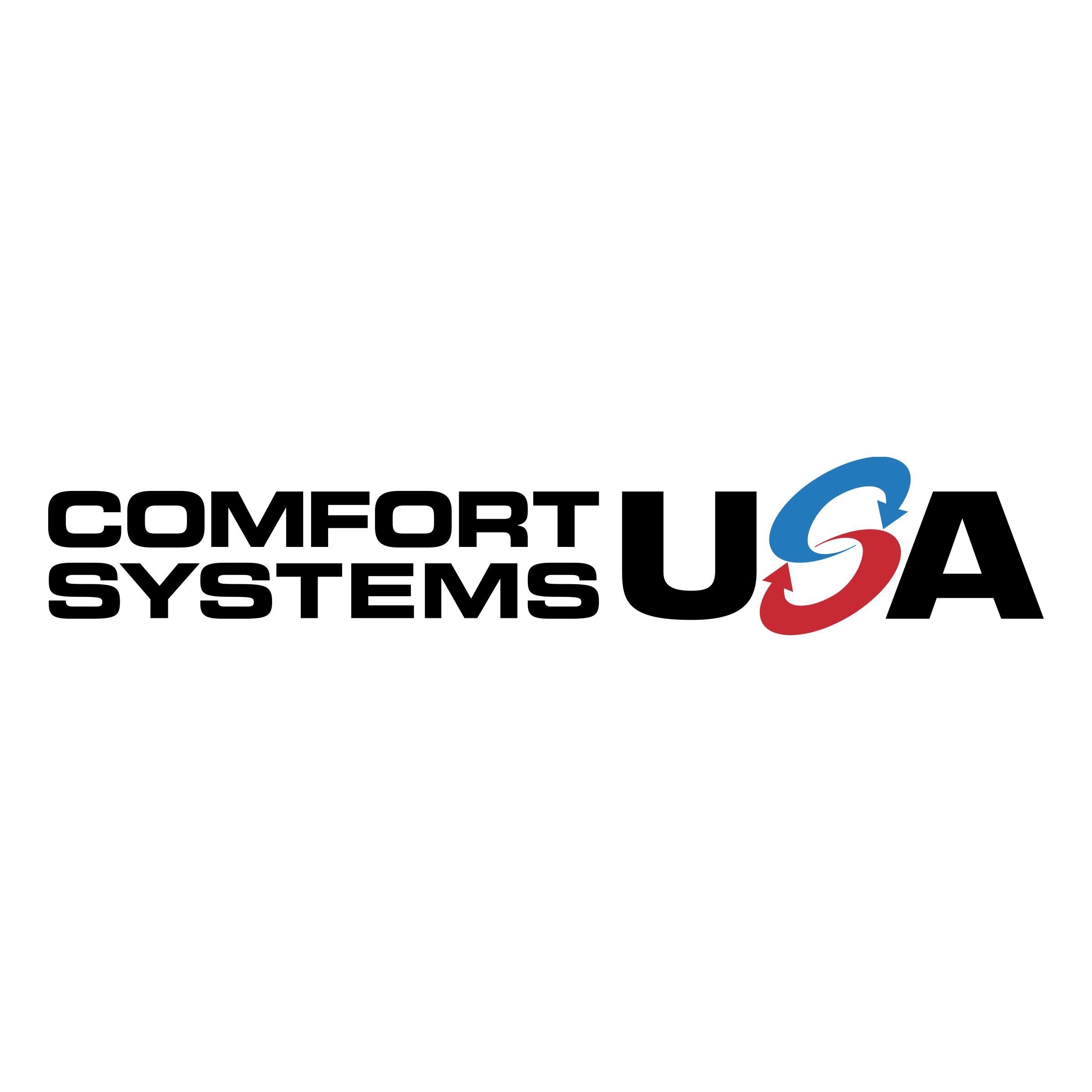 Comfort Systems USA Logo PNG Transparent & SVG Vector.