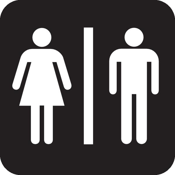 Rest Room Sign Clip Art at Clker.com.