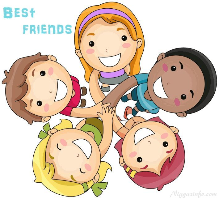 Friend ship day clipart.