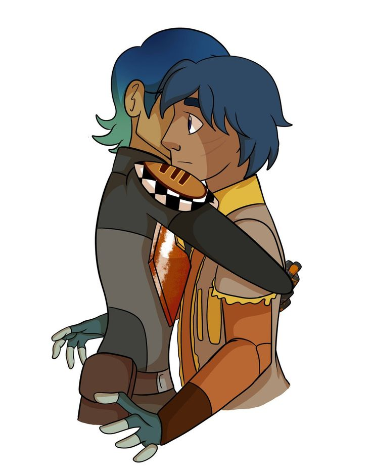 Sabine and Ezra. I really hope Sabine is there to comfort Ezra.