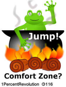116 Frog Comfort Zone Clip Art at Clker.com.