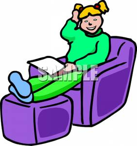Comfy Chair Clipart.