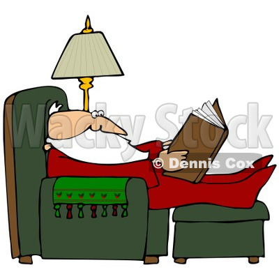 Comfortable Clipart by Dennis Cox.