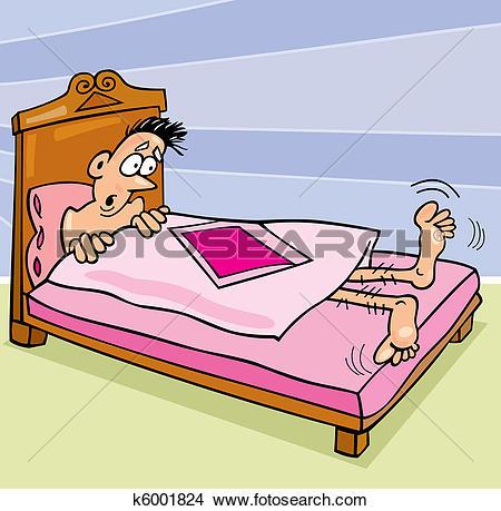 Clipart of Too Short Comforter k6001824.