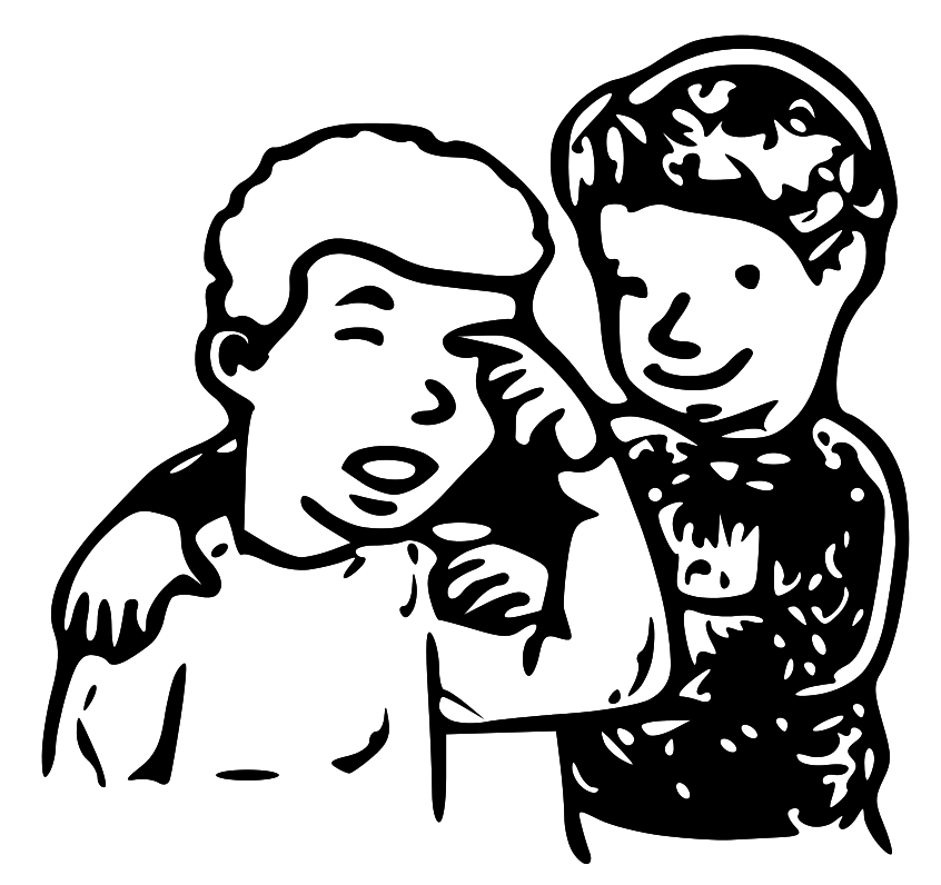 Comforting Clipart.