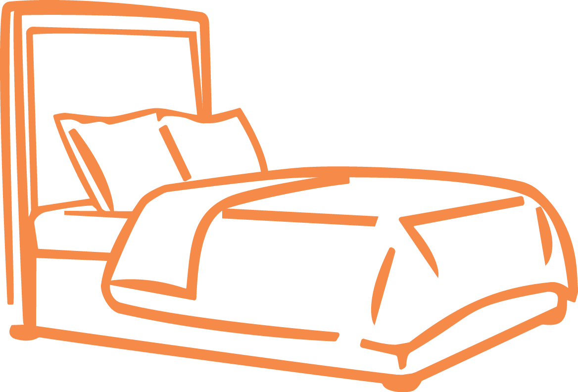 Clipart bed comfy bed, Clipart bed comfy bed Transparent.