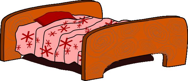 Comfy bed clipart.