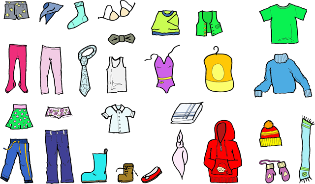 Collection of 14 free Closet clipart clothing giveaway bill clipart.