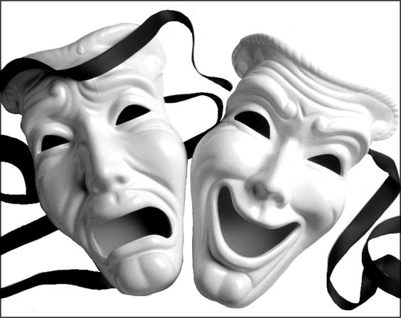 Greek Drama Masks Clipart 21 pictures of theatre masks.