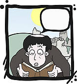 Comic actor clipart #15