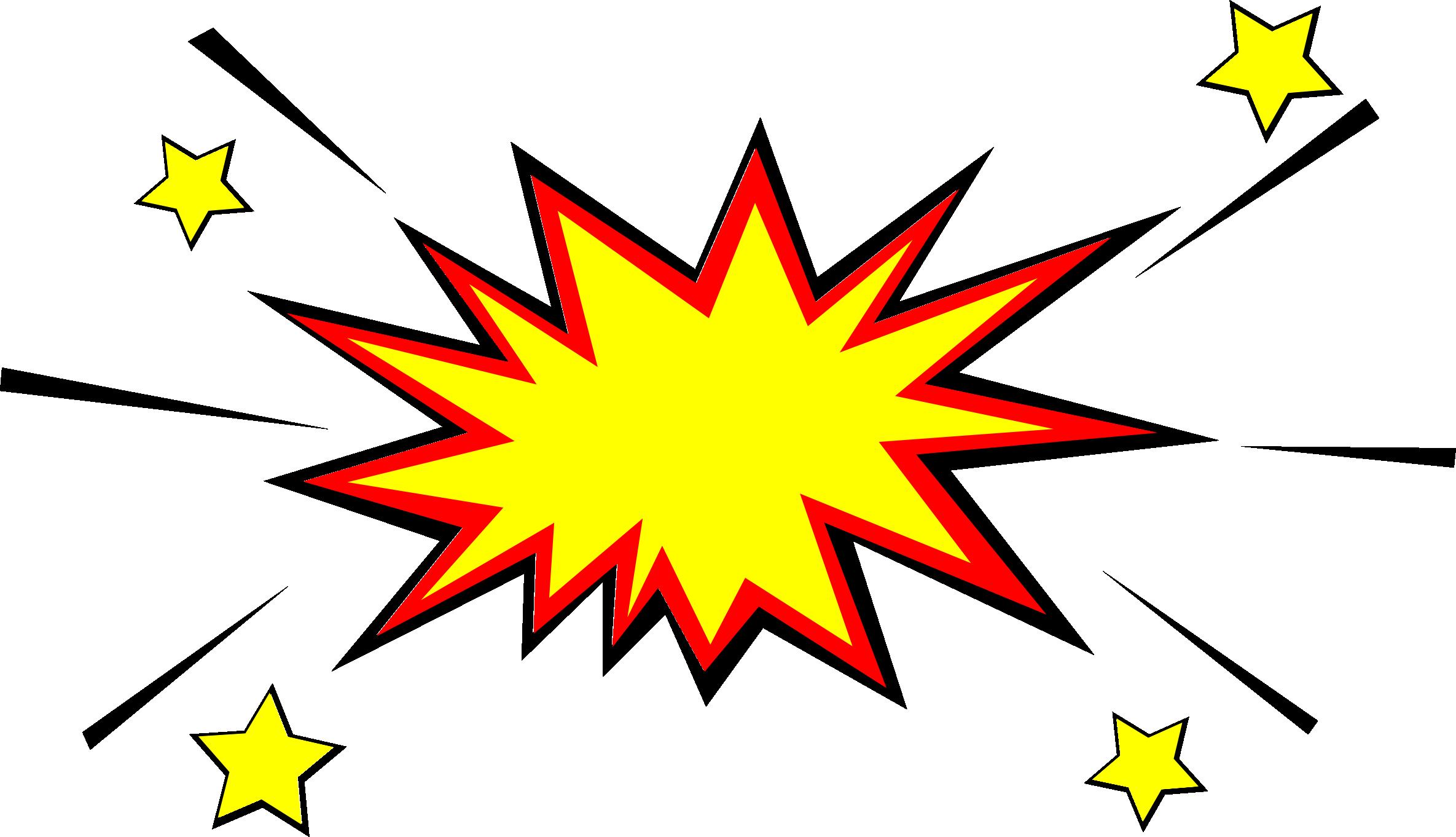 5 Comic Explosion Bubble (PNG Transparent, SVG Vector).