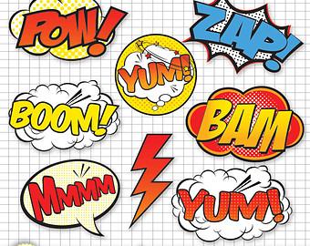 Clip Art Comic Book Clipart.
