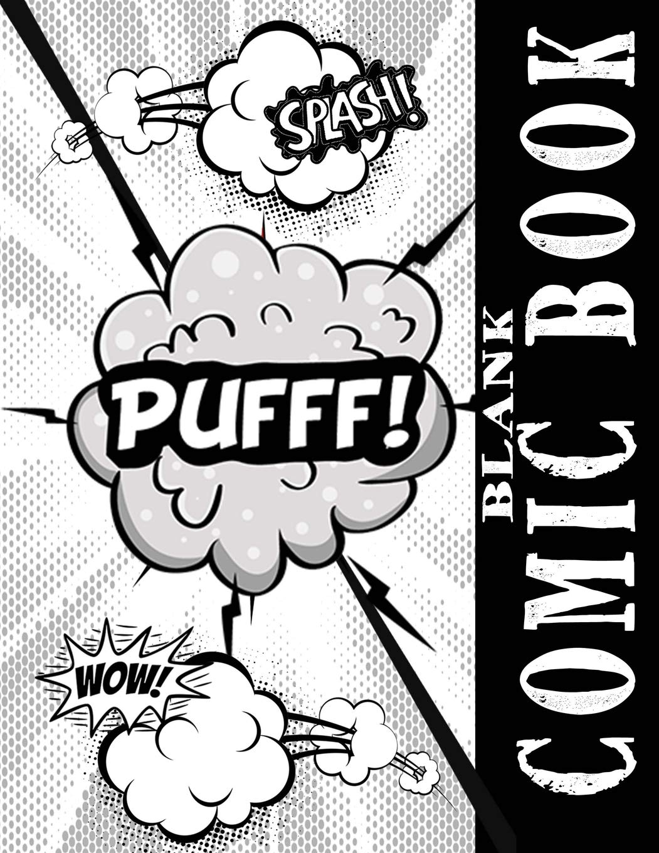 Blank Comic Books: Black Sci.