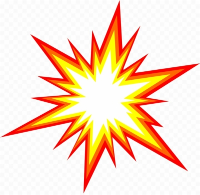 comic explosion png.