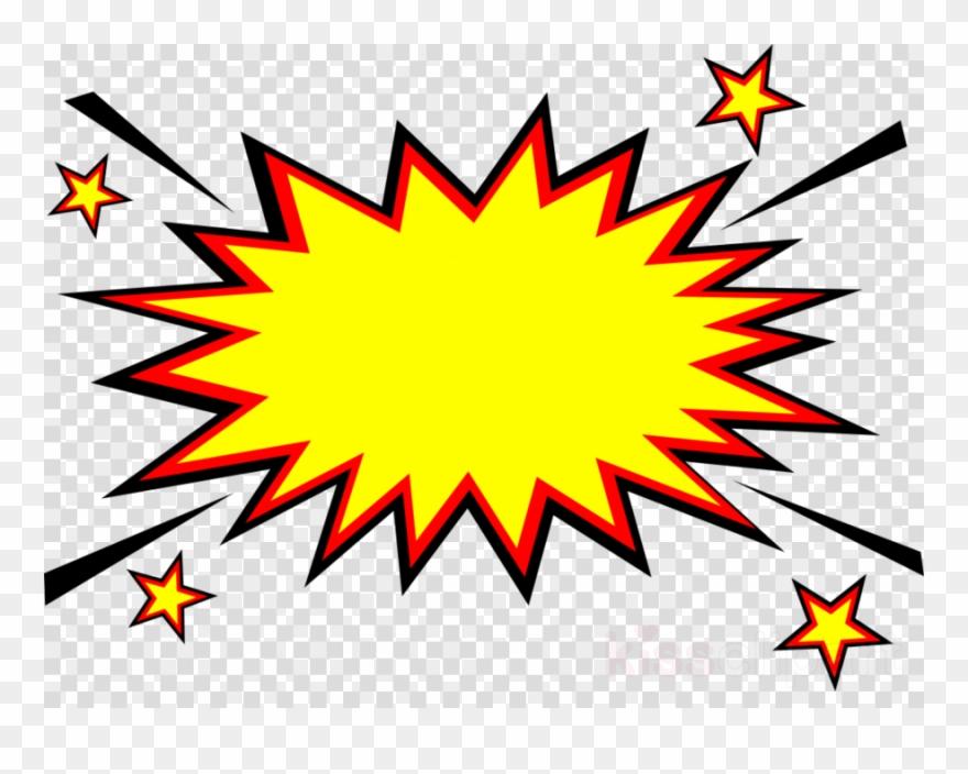 Download Explosion Comic Png Clipart Clip Art Leaf.
