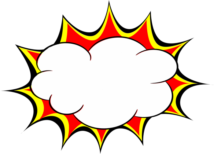 Comic Book Explosion Png Vector, Clipart, PSD.