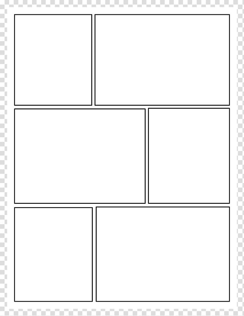White window , Comic book Comic strip Panel Comics Template.