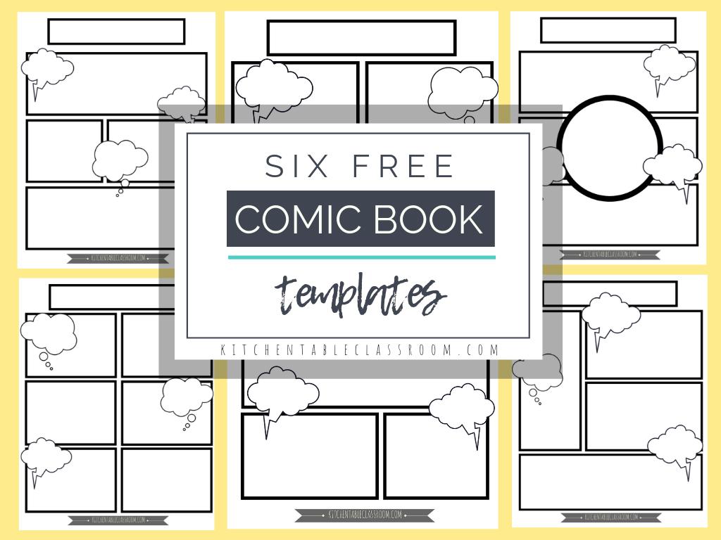 Comic Book Templates.