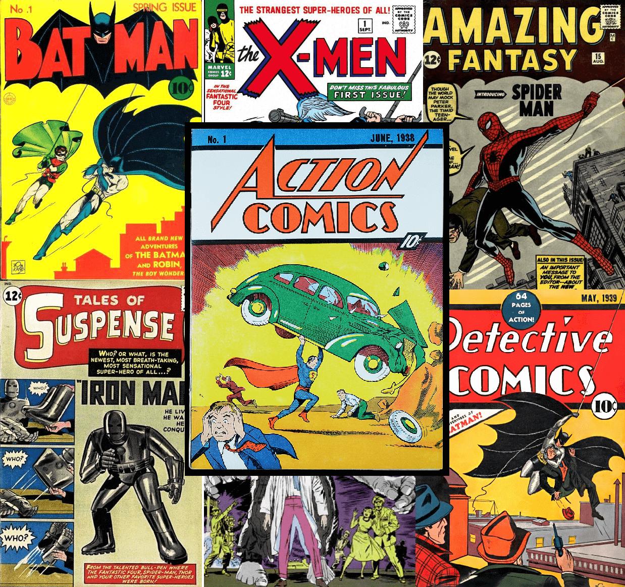 The world's rarest comic books.
