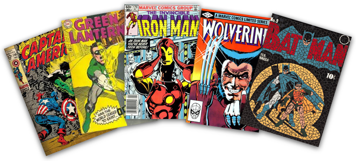 Sell Comic Books in Seattle, Lynnwood, Tacoma.