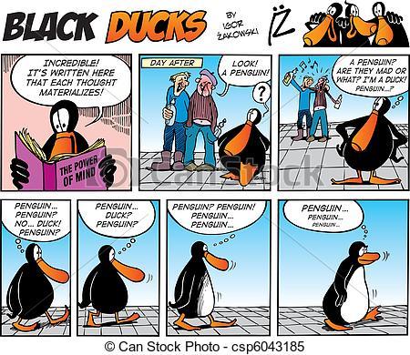 Cartoon strip clipart.