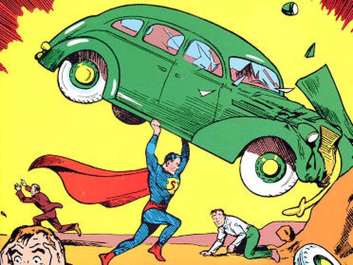 Comic Book Clip Art.