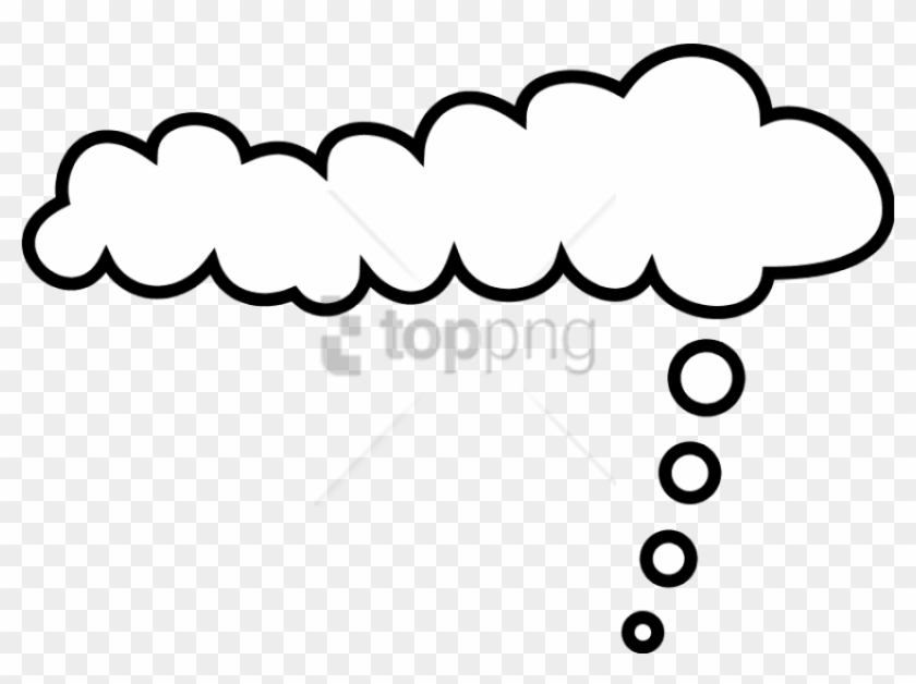 Free Png Comic Cloud Png Image With Transparent Background.