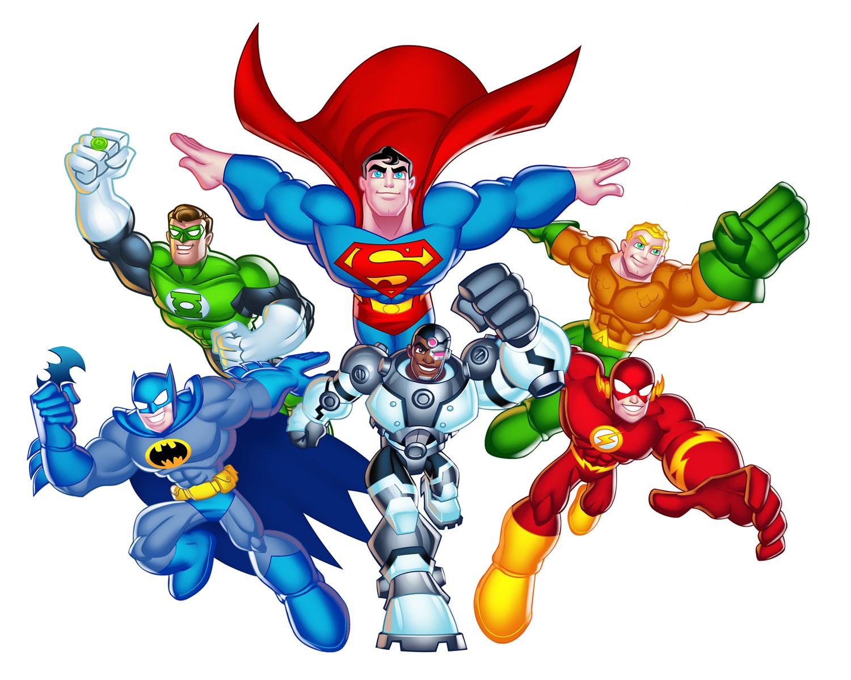 Super Woman Cartoon.