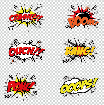 Art objects comics logos vector Free vector in Encapsulated.