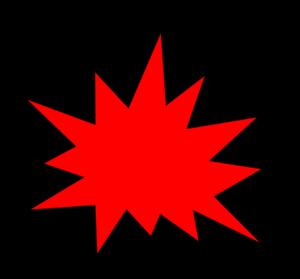 Red Comic Pow Clip Art at Clker.com.