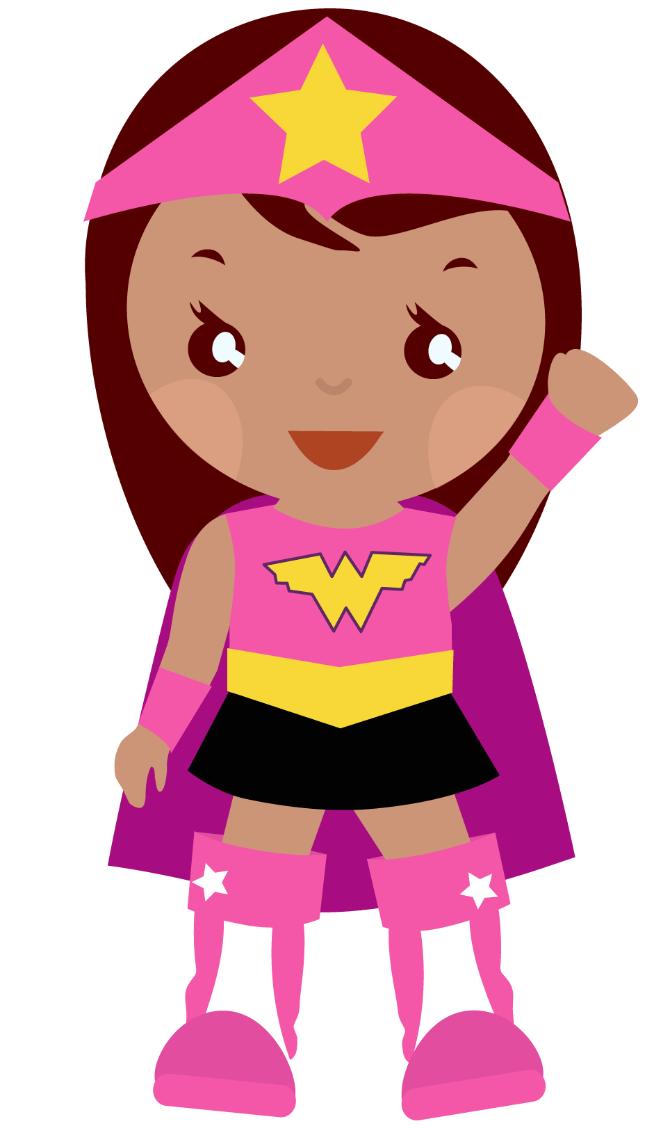 Comic Woman Clipart.