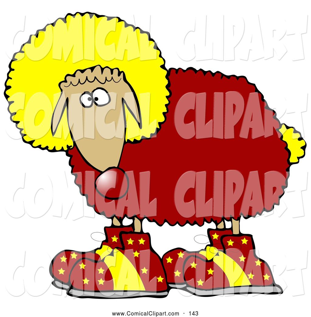 Sheep clipart funny weird.