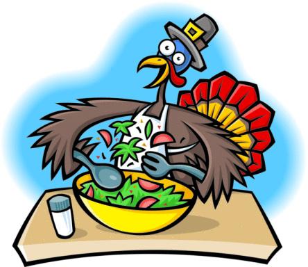 Funny Turkey Clipart.