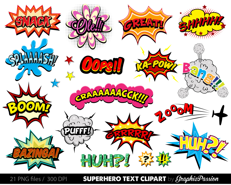 Comic Clipart.