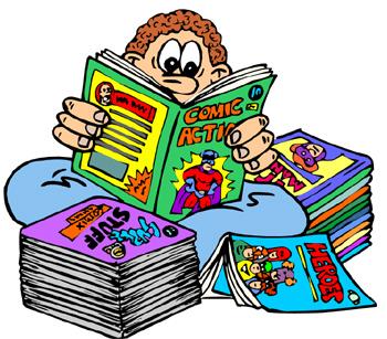 Read Comics Clipart.