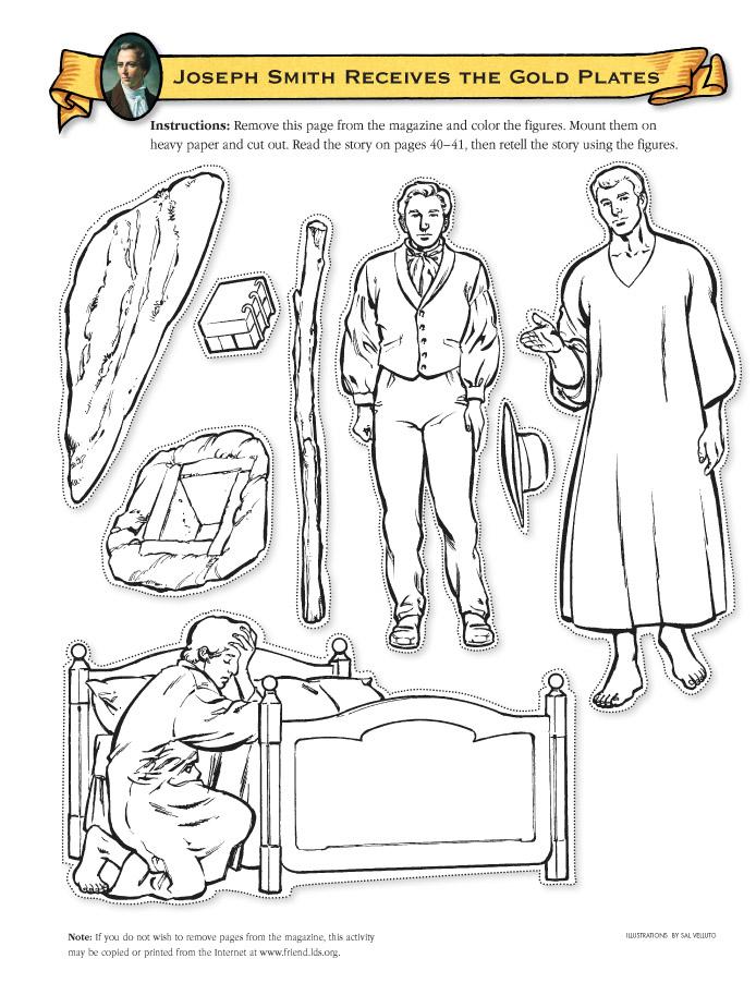 Joseph Smith Restoration Clip Art.