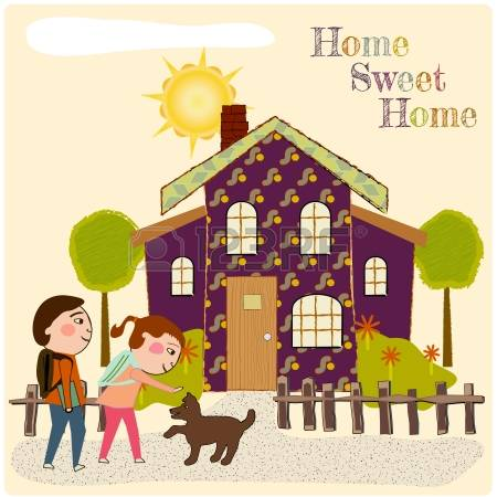 184 Coming Home Stock Illustrations, Cliparts And Royalty Free.