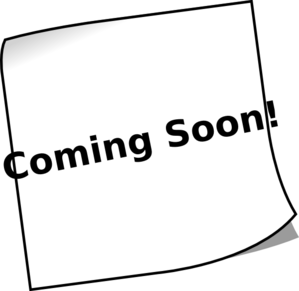 Animated coming soon clip art.