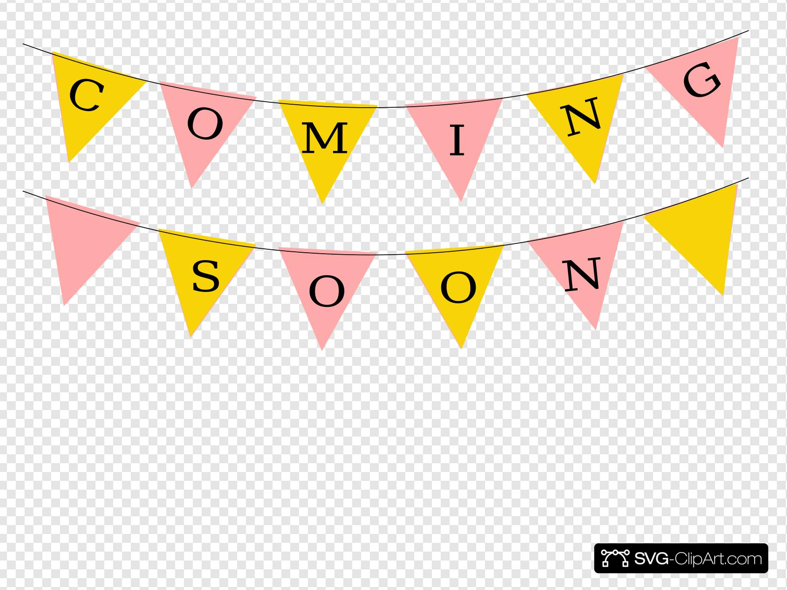 Coming Soon Clip art, Icon and SVG.