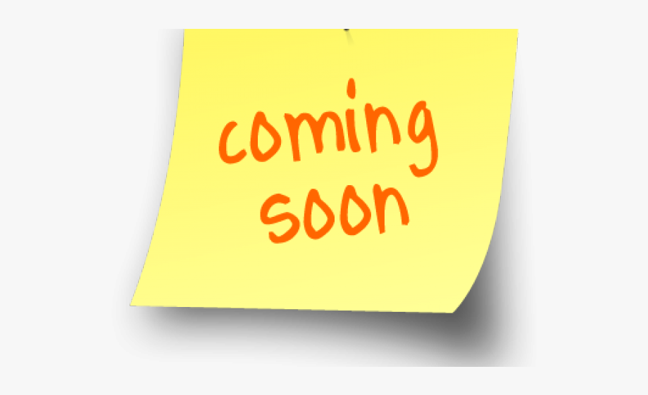 Coming Soon Clipart.