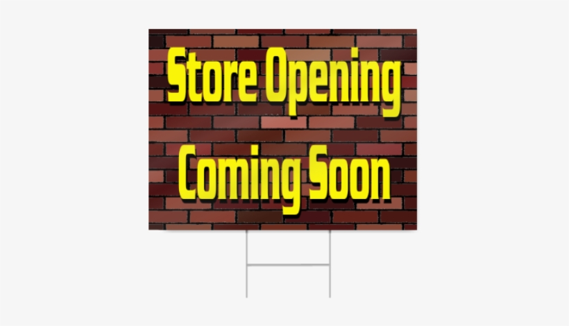 Coming Soon Sign.