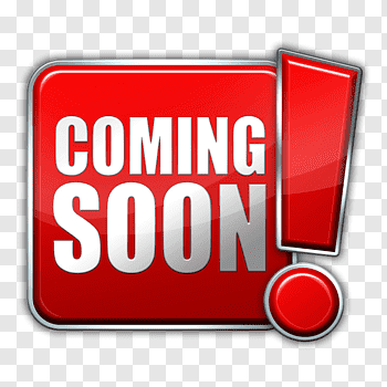 Coming Soon cutout PNG & clipart images.