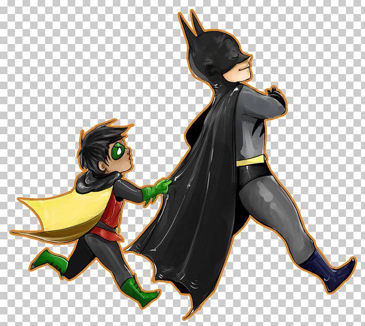 Batman Robin Catwoman Commissioner Gordon Nightwing PNG.