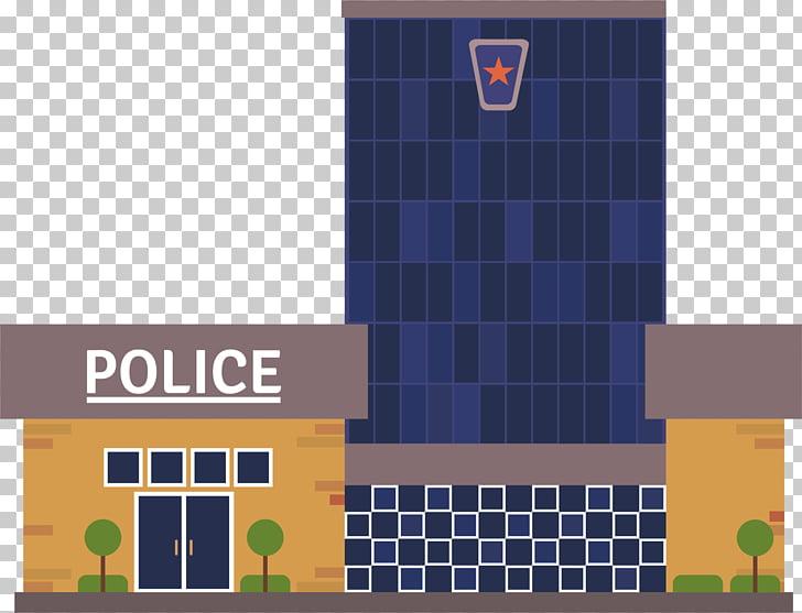 Comisaría policía policía esposas, cabina de dibujos.
