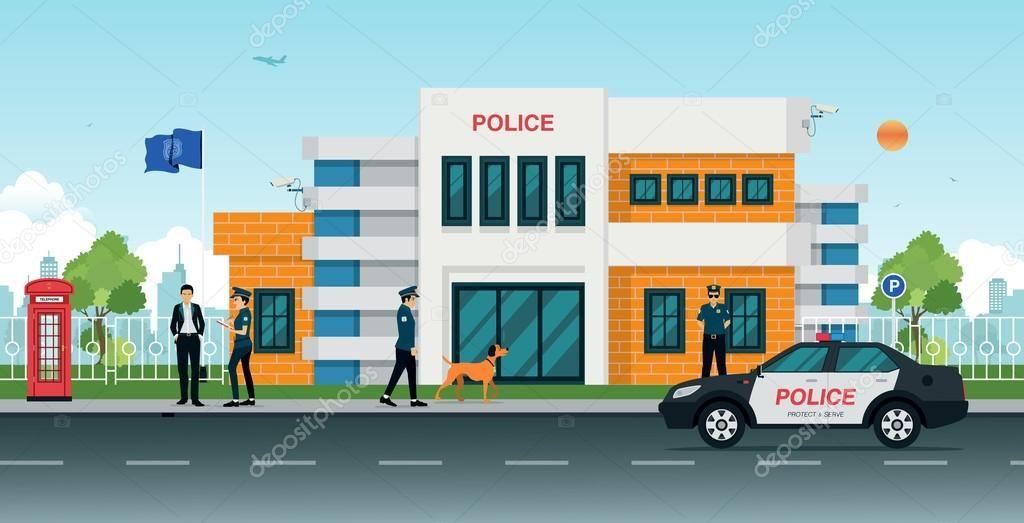imagenes de estacion de policia.