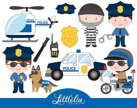 Policía imágenes prediseñadas.